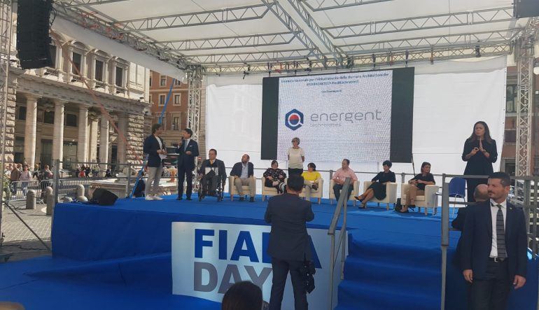 ENERGENT AL FIANCO DI FIABA ONLUS